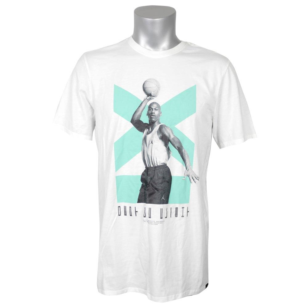 5b823ba8c26 Nike Jordan /NIKE JORDAN T-shirt short sleeves Air Jordan 11 low white  916,046 ...
