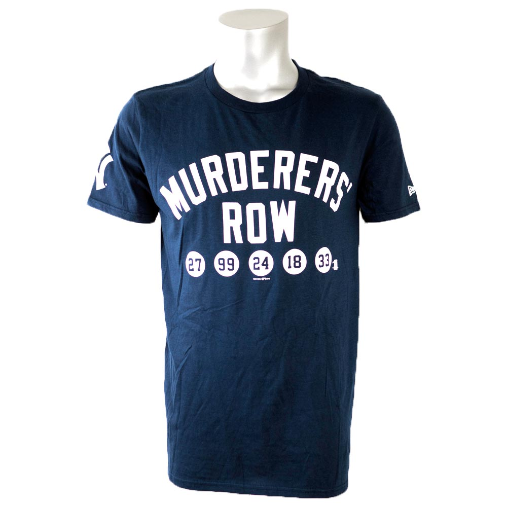 MLB ヤンキース Tシャツ 半袖 マーダラーズ・ロウ ニューエラ/New Era ネイビー【1910価格変更】【1112】