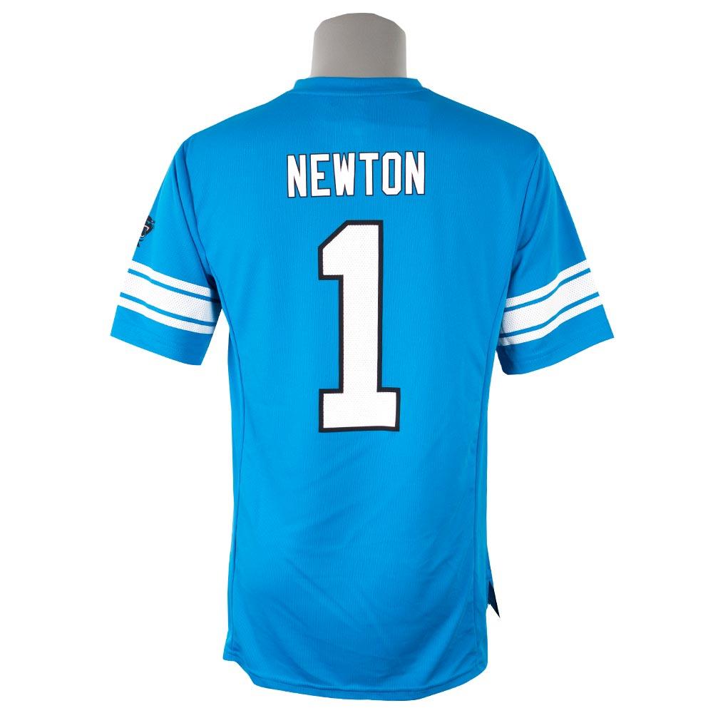 NFL パンサーズ キャム・ニュートン Tシャツ 半袖 ハッシュマーク ネーム&ナンバー マジェスティック/Majestic ブルー【1910価格変更】