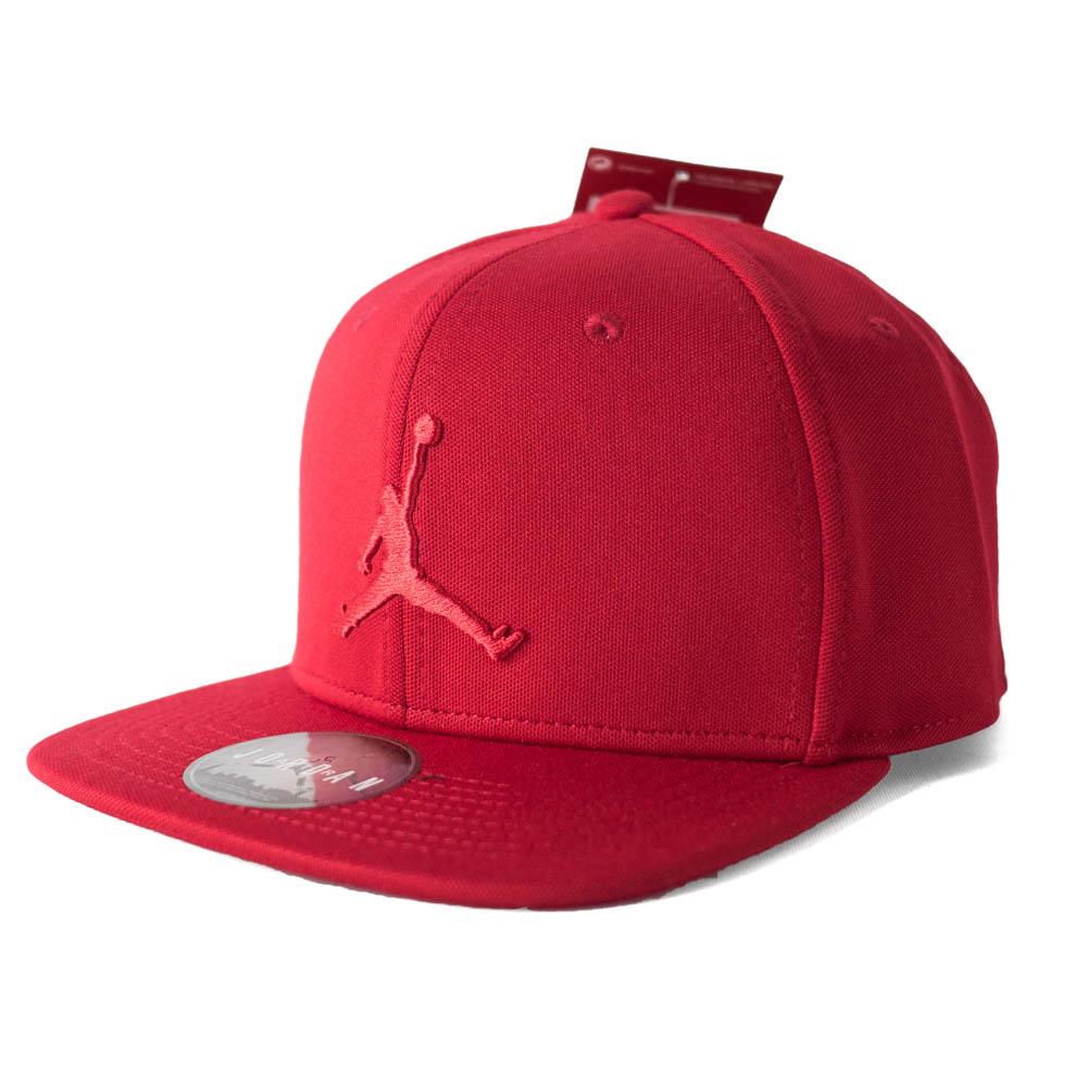 MLB NBA NFL Goods Shop  JORDAN cap   hat jump man snapback Nike  Nike red  861 d02aa6239b03