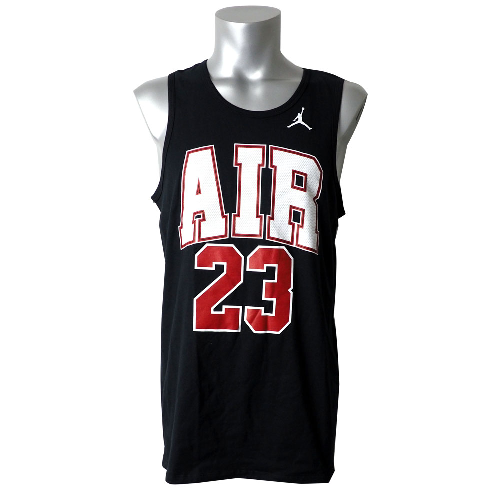 Mlb Nba Nfl Goods Shop Nike Jordan T Shirt Tank Top Air 23 Black Aa1909 010