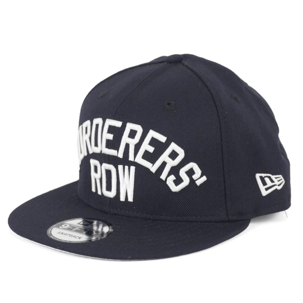 ヤンキース キャップ ニューエラ NEW ERA MLB マーダラーズ・ロウ ネイビー【1910価格変更】【191028変更】