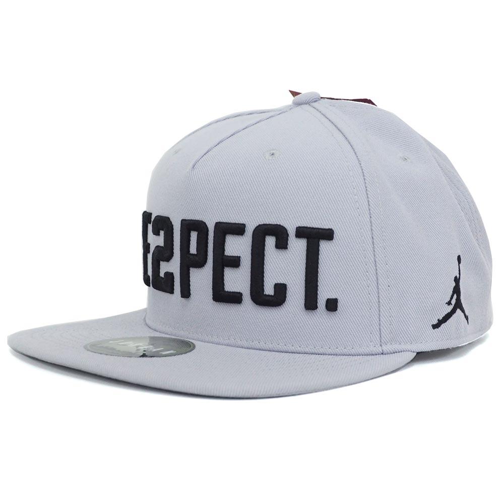 Nike Jordan  NIKE JORDAN Derek Jeter cap   hat Re2pect adjuster bulldog  gray AA0540-012 20f5fdab21c