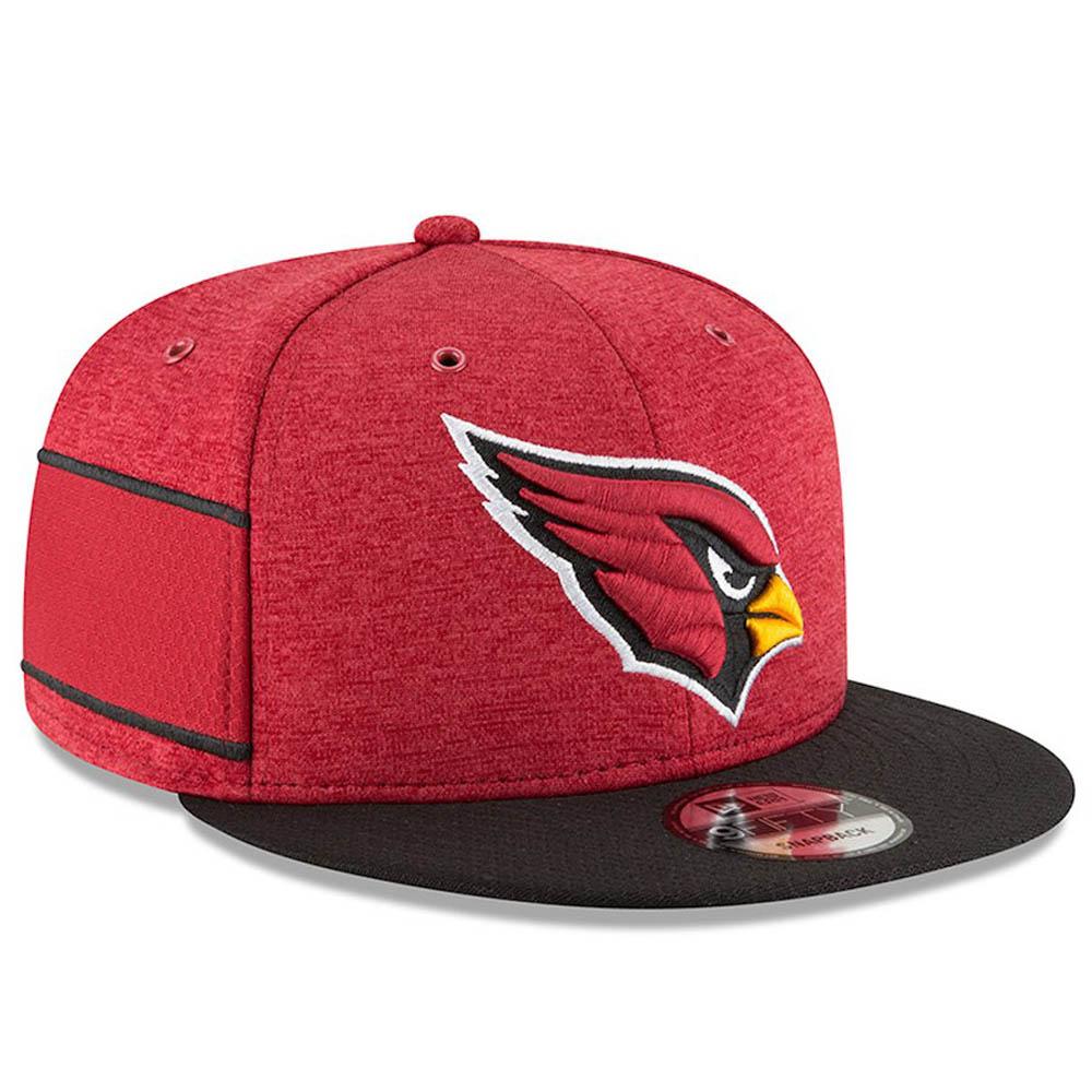 NFL カーディナルス キャップ/帽子 2018 サイドライン 9FIFTY アジャスタブル ニューエラ/New Era ホーム【1910価格変更】【191028変更】