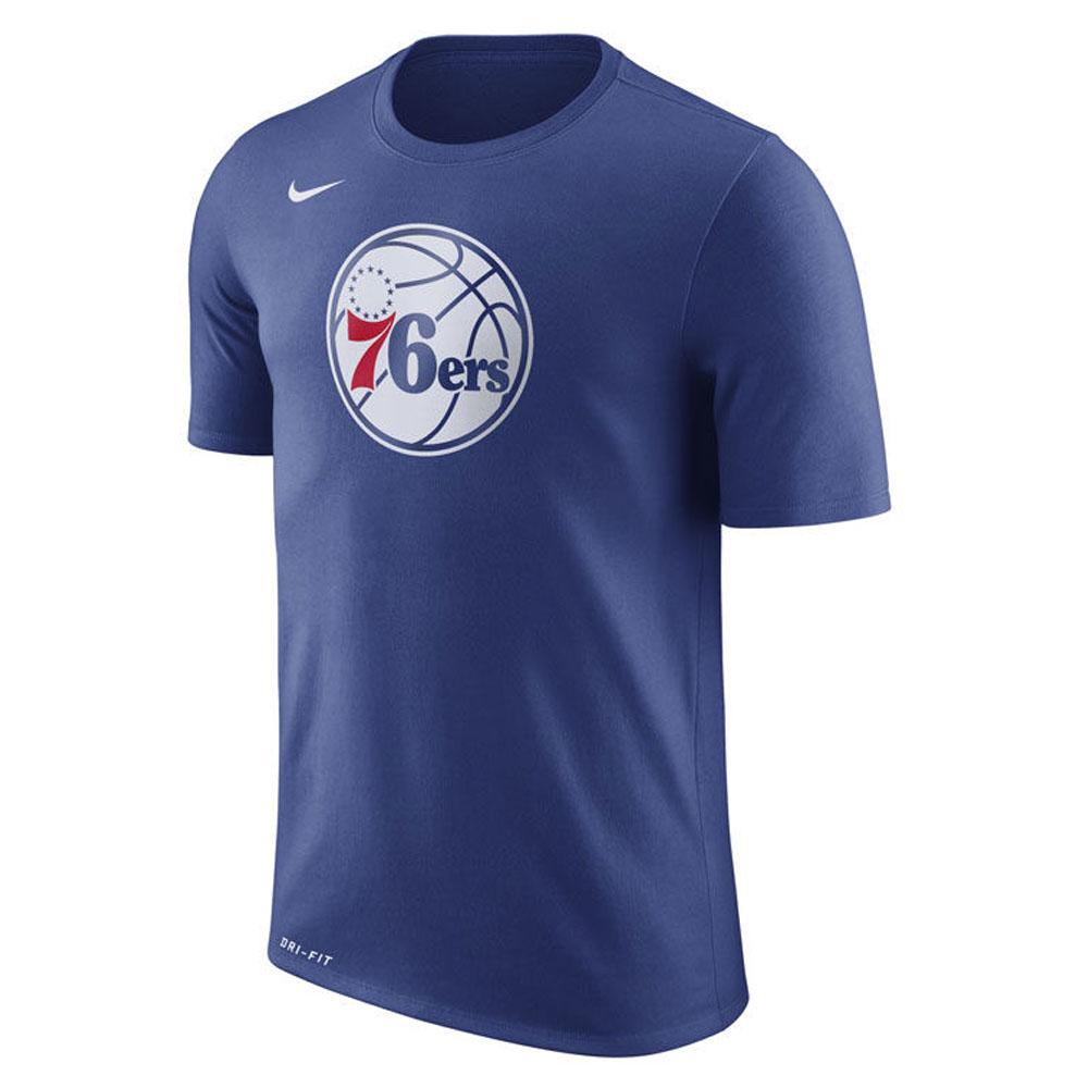 NBA Tシャツ 76ers 半袖 ドライフィット コットン ロゴ ナイキ/Nike ロイヤル【1910価格変更】【1911NBAt】