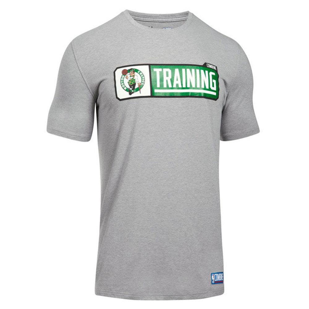 NBA Tシャツ セルティックス 半袖 コンバイン ピル アンダーアーマー/UNDER ARMOUR グレー【1910価格変更】【1911NBAt】