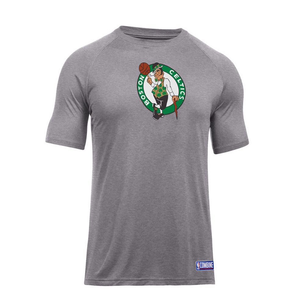 NBA Tシャツ セルティックス 半袖 プライマリー ロゴ アンダーアーマー/UNDER ARMOUR グレー【1910価格変更】【1911NBAt】