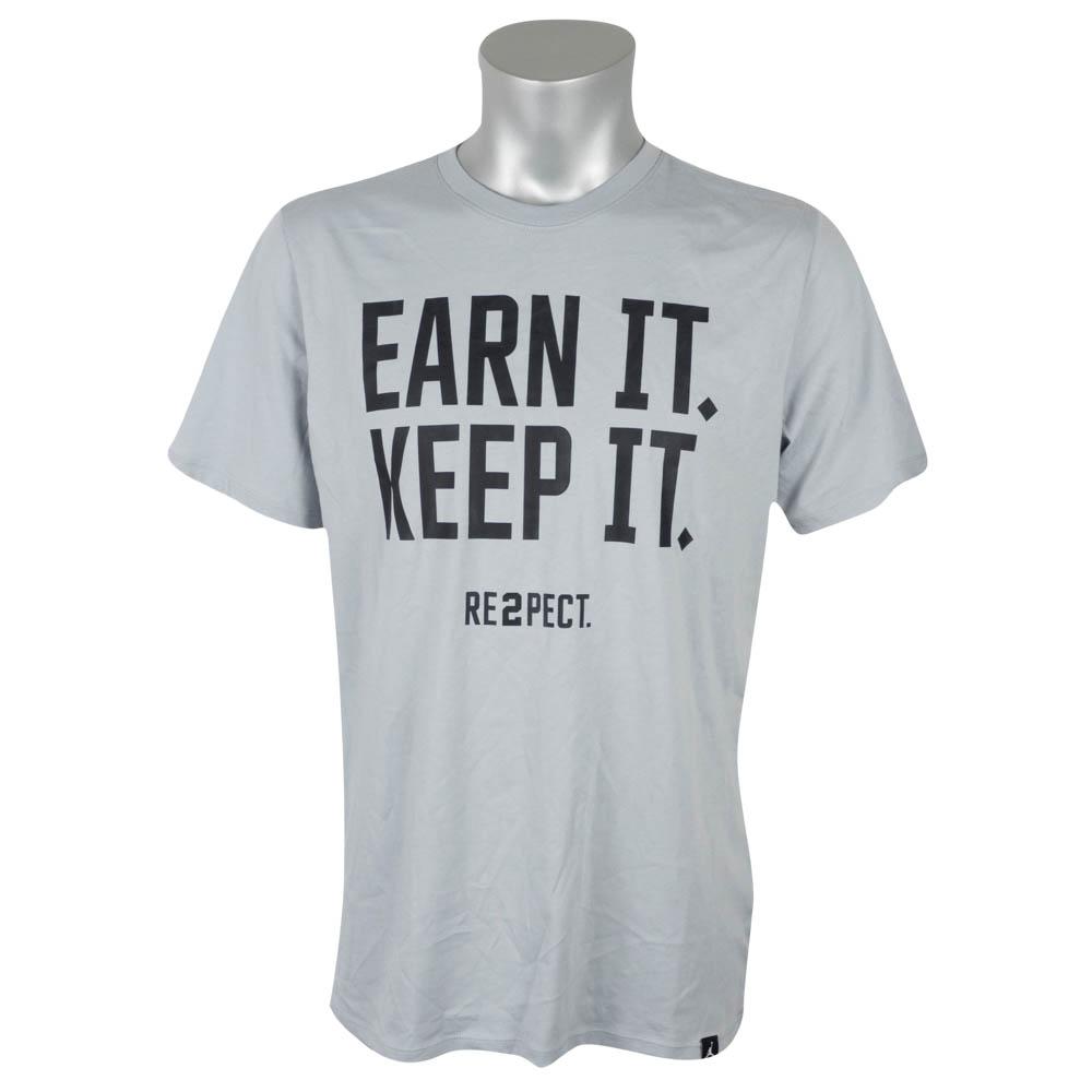 03da4c108011 Nike Jordan  NIKE JORDAN Derek Jeter T-shirt short sleeves  リスペクトアーンイットキープグラフィックグレー 897