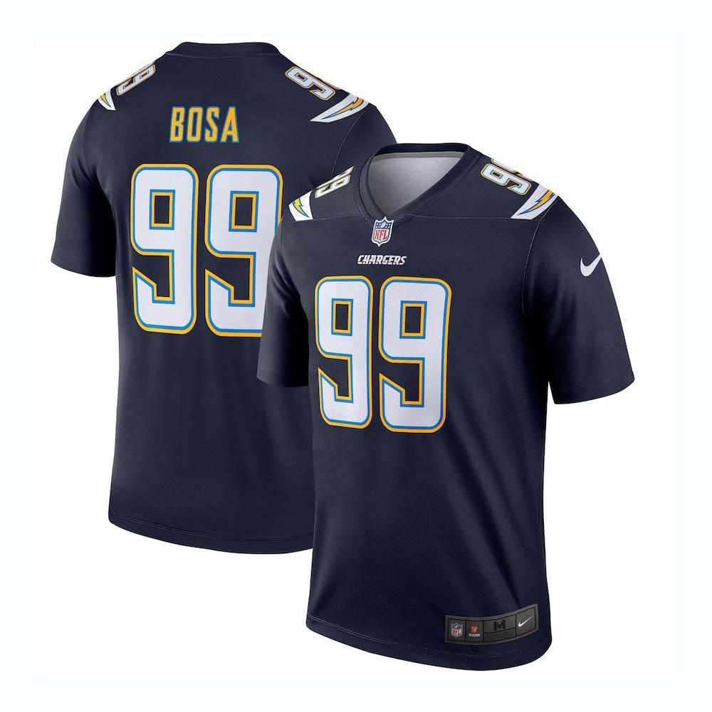 NFL チャージャーズ ジョーイ・ボサ ユニフォーム/ジャージ レジェンド ナイキ/Nike ネイビー 2942533【1910価格変更】