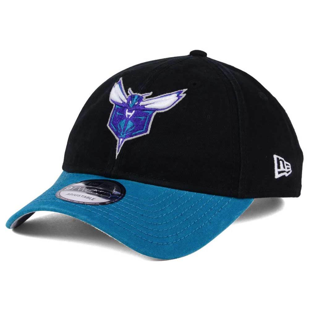 NBA ホーネッツ キャップ/帽子 2トーン ニューエラ/New Era ブラック/ティール(オルタネートロゴ)【1911セール】