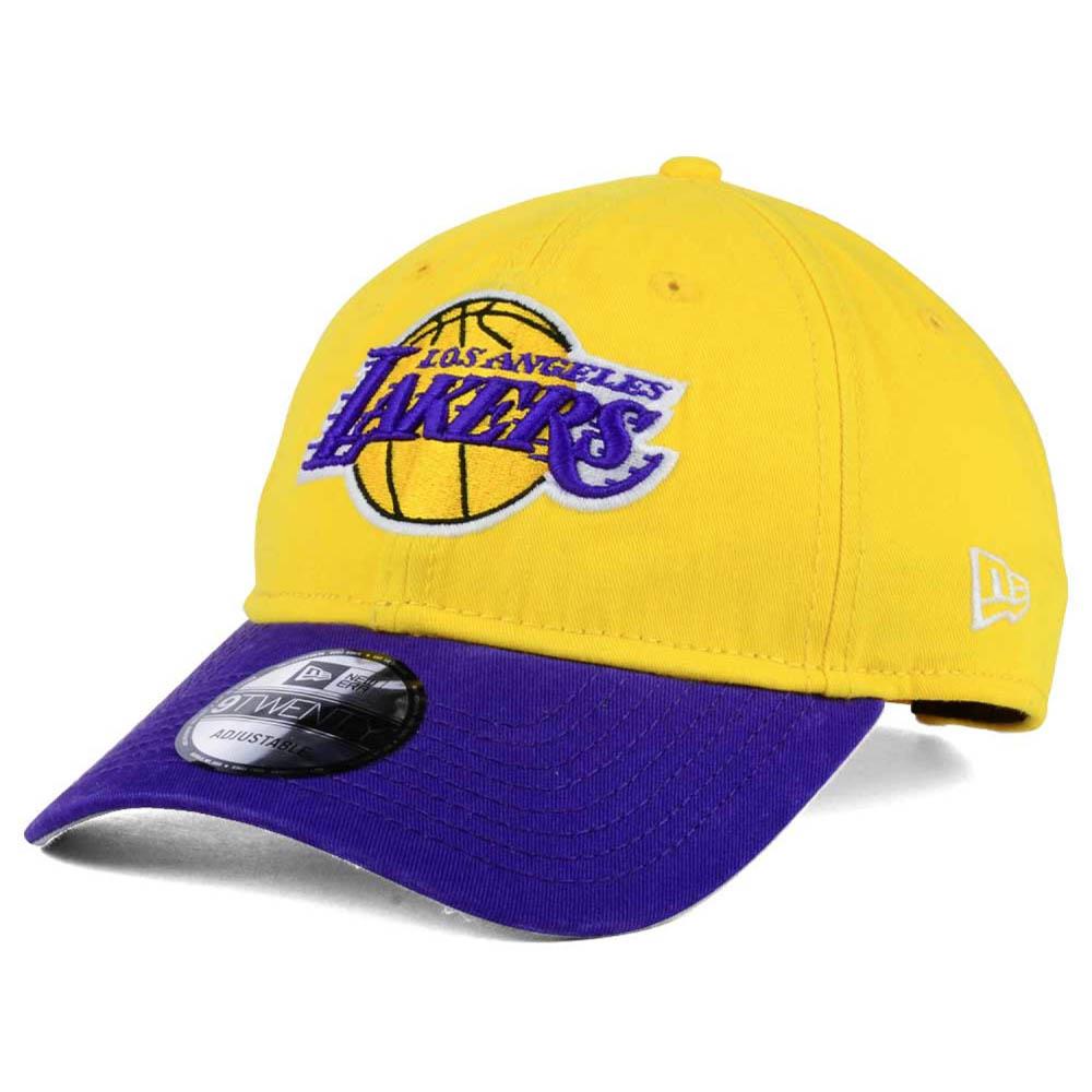 363929e34c1 NBA Lakers cap   hat 2 tone new gills  New Era gold   purple (primary logo)