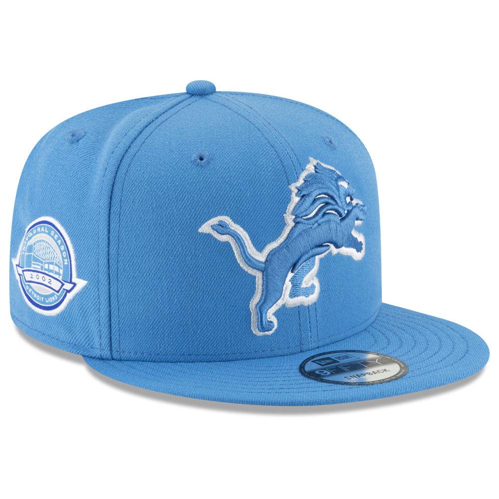 NFL ライオンズ キャップ/帽子 アニバーサリー パッチ スナップバック ニューエラ/New Era ロイヤル【1910価格変更】【191028変更】