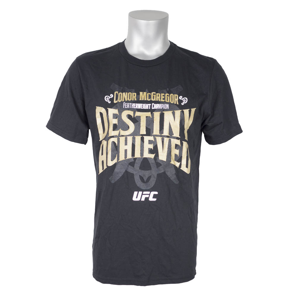 UFC コナー・マクレガー Tシャツ デスティニー リーボック/Reebok ブラック