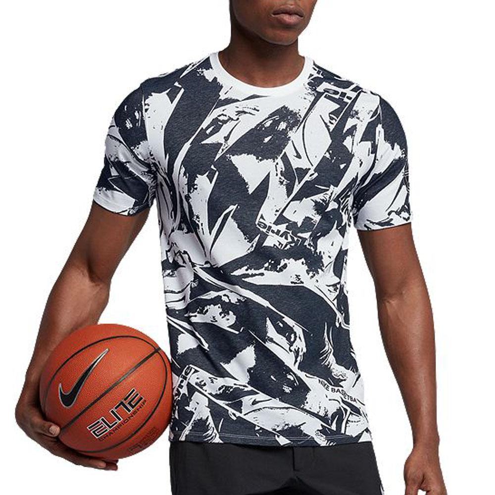 0cba26fc MLB NBA NFL Goods Shop: KYRIE chi Lee Irving T-shirt AOP Nike /Nike ...