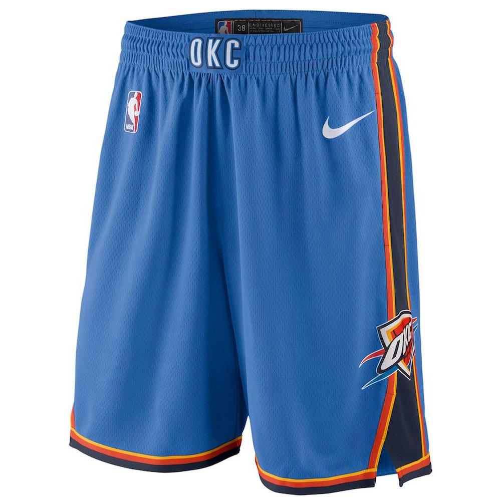 NBA サンダー ショートパンツ/ショーツ スウィング バスケットボール ショーツ ナイキ/Nike ブルー 866853-403 トレーニング特集