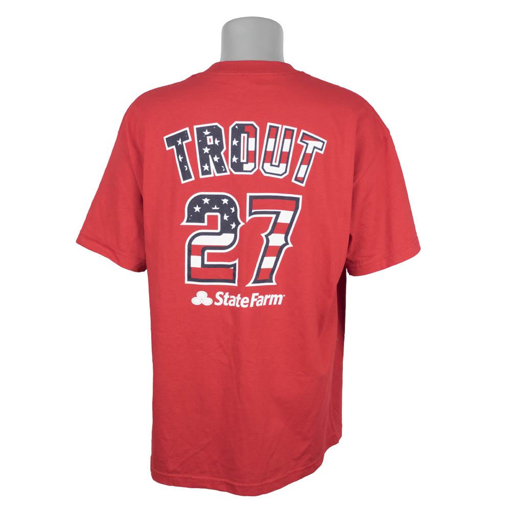 MLB エンゼルス マイク・トラウト Tシャツ 7/4 スタジアム限定配布【1910価格変更】【1112】