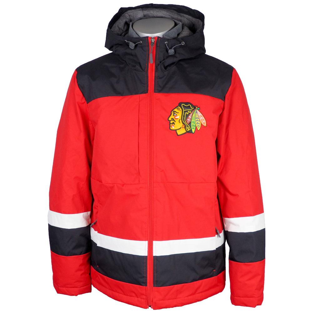 NHL ブラックホークス ジャケット/アウター パワープレイ ホッケージャージ インスパイアード G-III