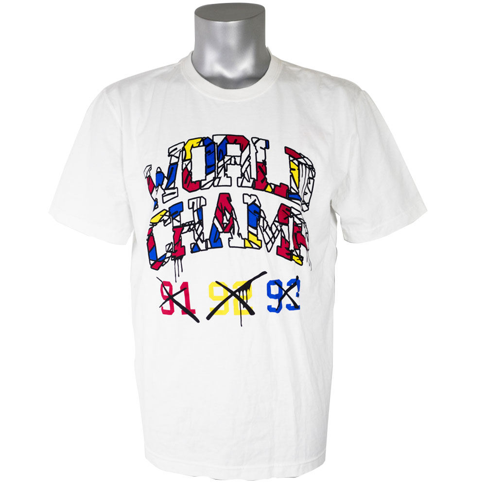 ジョーダン/JORDAN Tシャツ VIII ワールドチャンプ ホワイト 534801-100