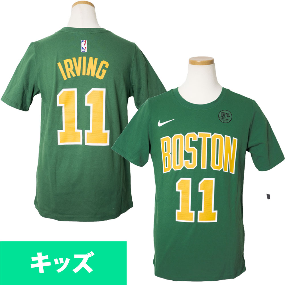 the best attitude 359a7 19d72 NBA Celtics chi Lee Irving T-shirt use flip dry name & number city edition  Nike /Nike