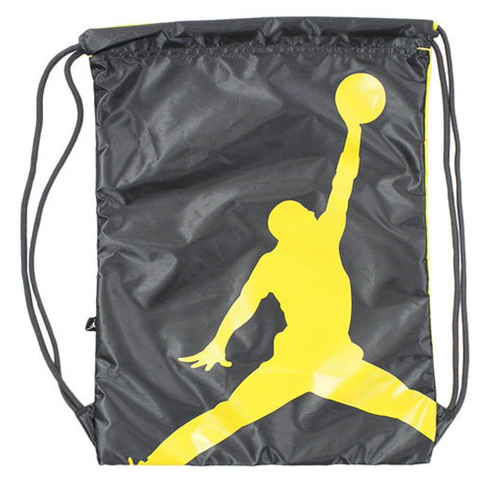 03ac73017325 Nike Jordan  NIKE JORDAN jump man gym case draw string backpack black  9A1940-693