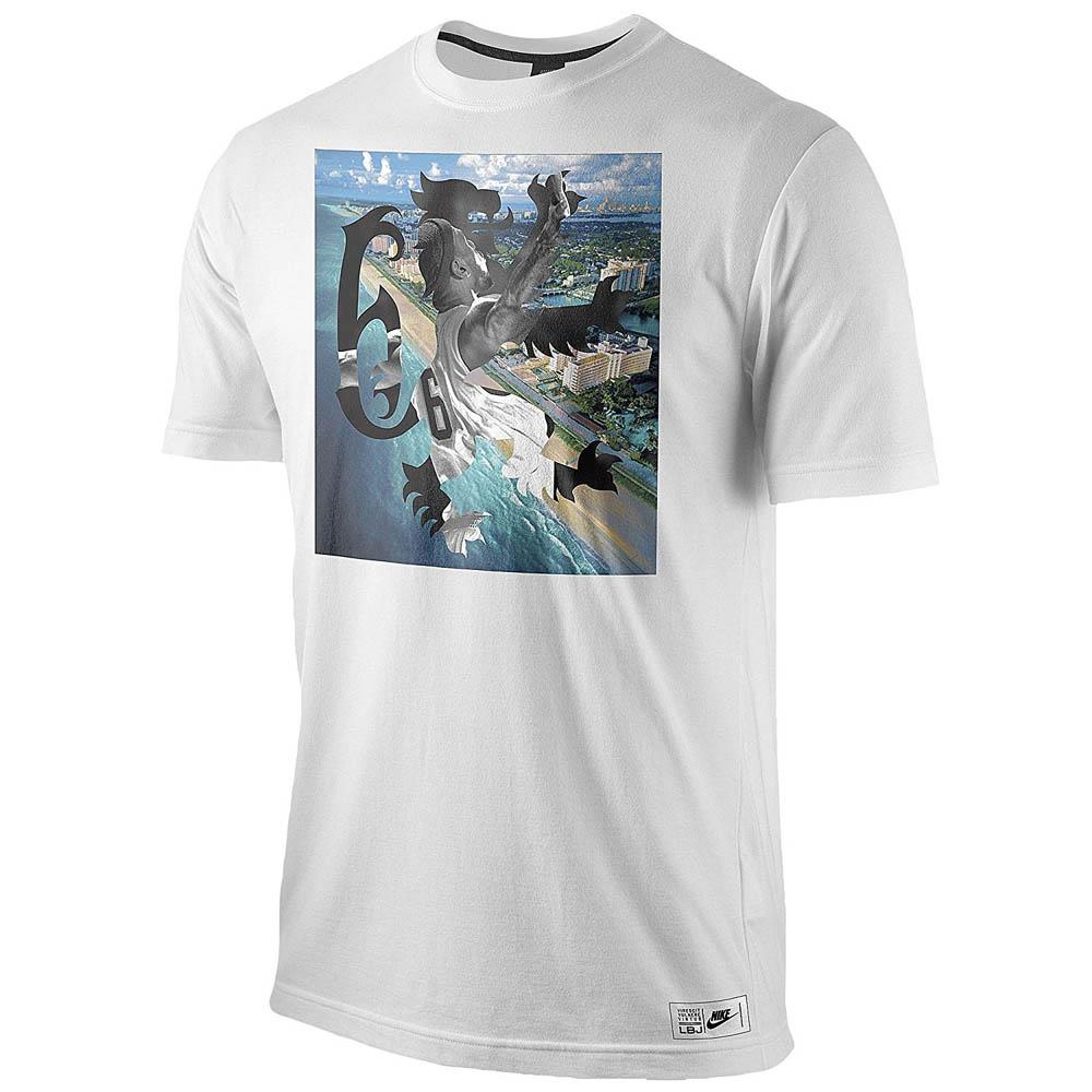 LeBron Tシャツ マイアミ ライオン ナイキ/Nike ホワイト【1910価格変更】【1911NBAt】