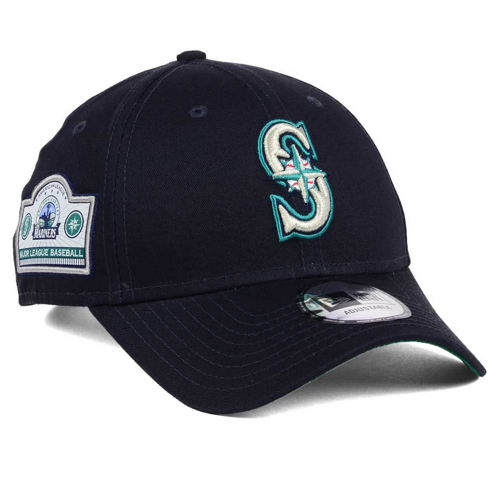 100% authentic f2800 c399d MLB Mariners cap   hat banner patch new gills  New Era navy ...