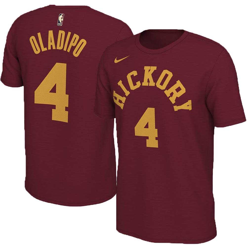 NBA Tシャツ ペイサーズ ビクター・オラディポ ハードウッド クラシック ネーム&ナンバー ナイキ/Nike ワイン【1910価格変更】【1911NBAt】