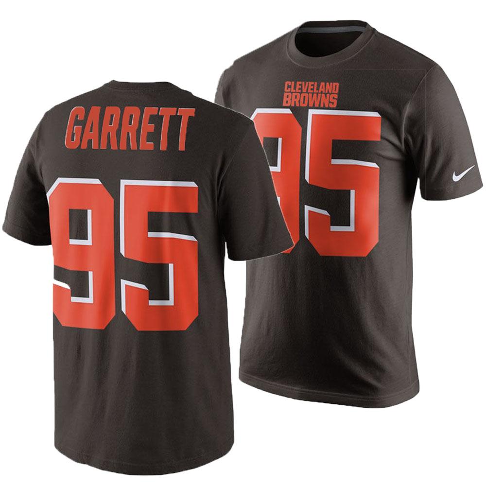 NFL ブラウンズ マイルズ・ギャレット Tシャツ プレイヤー プライド ネーム&ナンバー ナイキ/Nike ブラウン【1910価格変更】