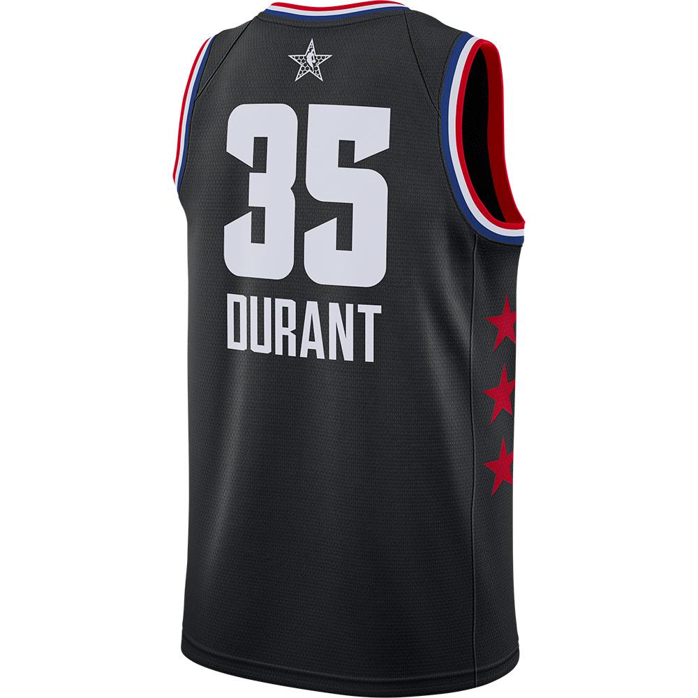 online store e8d2a fa48d NBA Kevin Durant uniform / jersey 2019 all-stars swing manno smart /Nike  black AQ7295-014