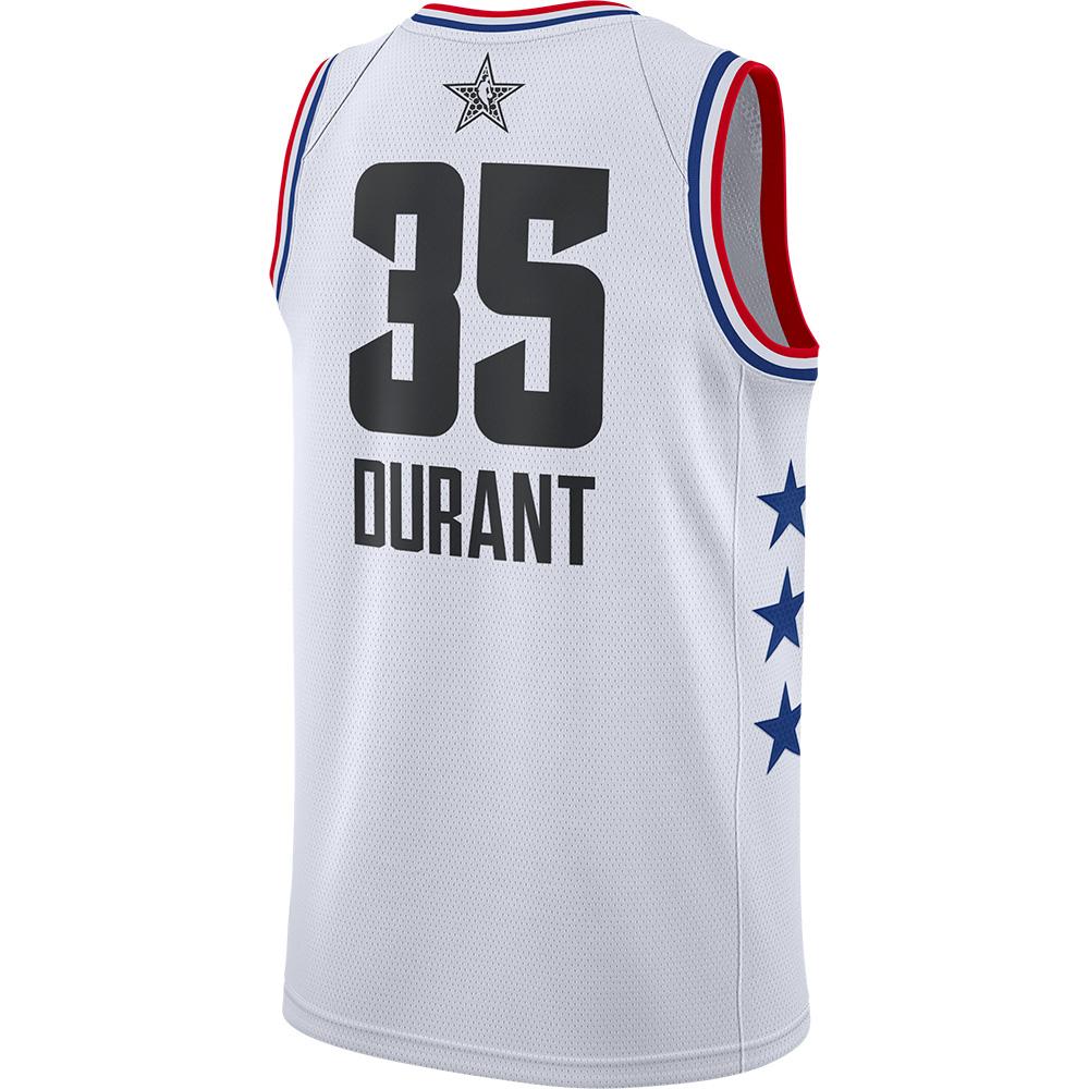 NBA ケビン・デュラント ユニフォーム/ジャージ 2019 オールスター スウィングマン ナイキ/Nike ホワイト AQ7297-103【NIKEJP】
