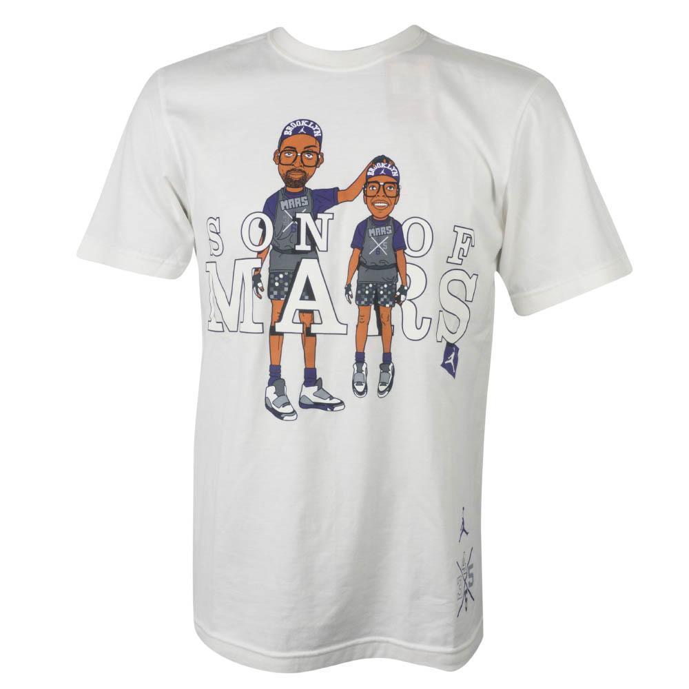 ジョーダン/JORDAN Tシャツ サン オブ マーズ ホワイト