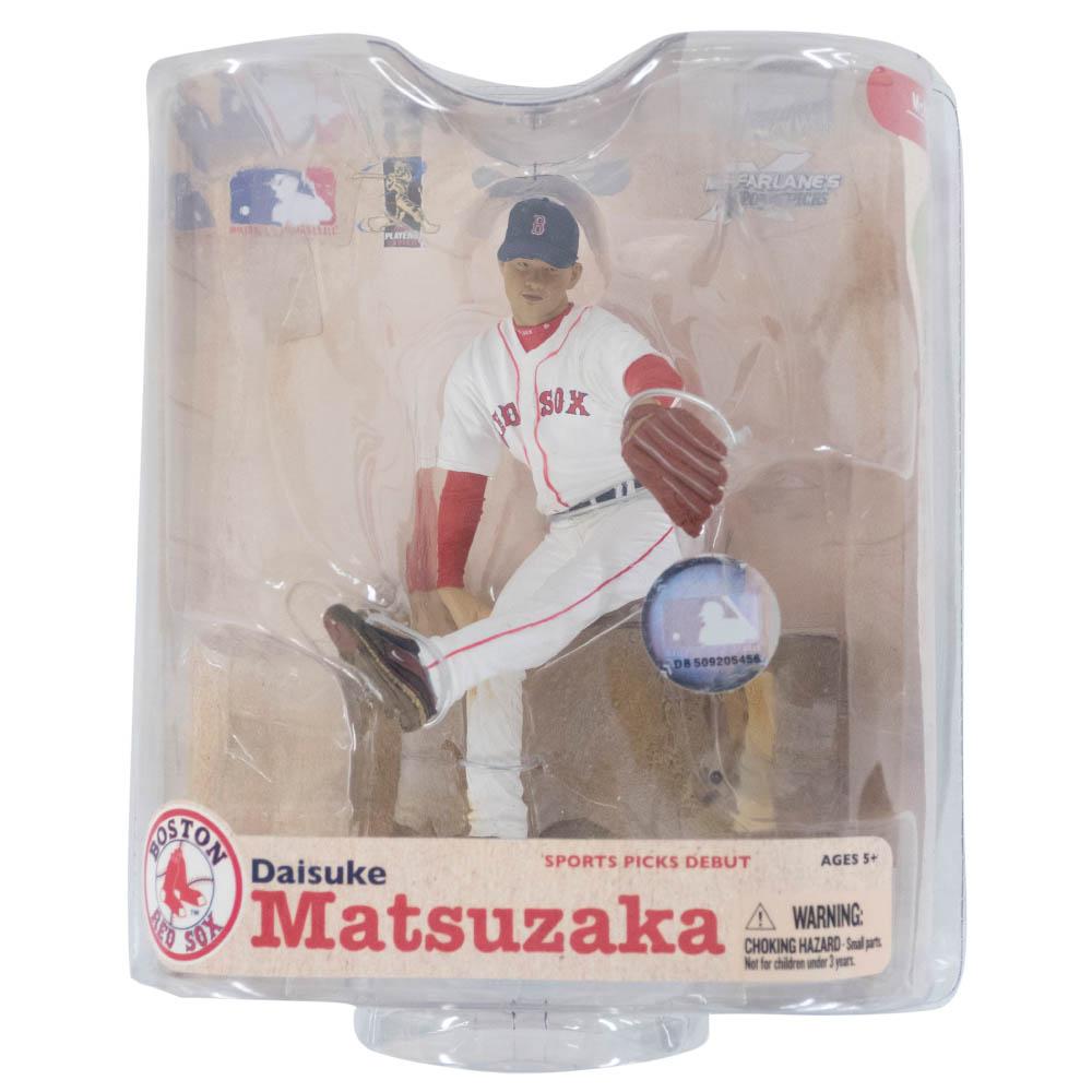 MLB レッドソックス 松坂 大輔 フィギュア フィギュア McFarlane ホーム【1910価格変更】