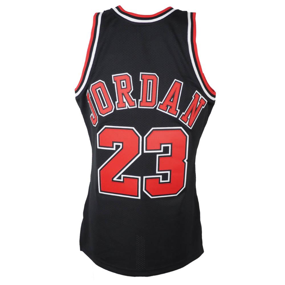 the latest e0a3a 78753 NBA Bulls Michael Jordan uniform / jersey authentic 1997-1998 Mitchel &ness  /Mitchell & Ness black