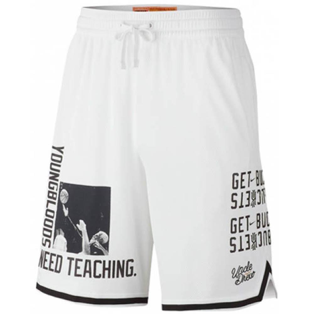 KYRIE ショートパンツ/ショーツ DNA アンクルドリュー バスケットボール ショーツ ナイキ/Nike ホワイト BQ3125-100【1910価格変更】
