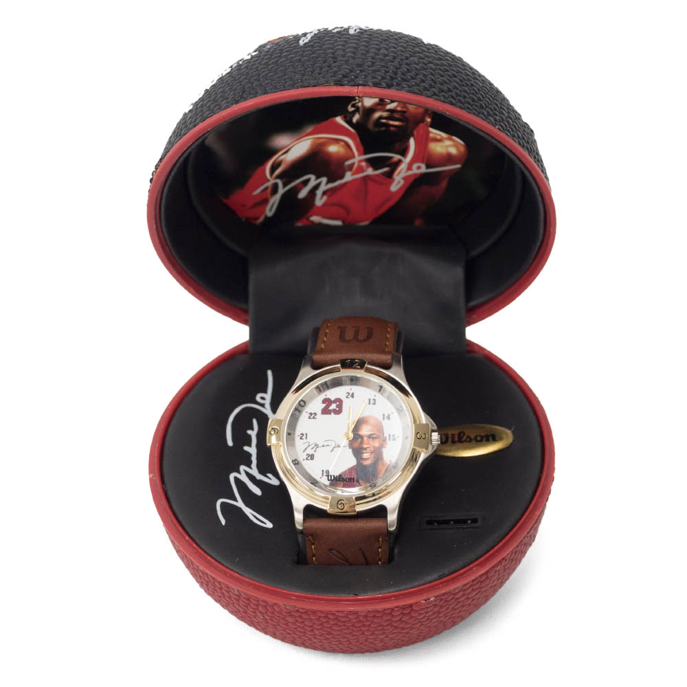NBA マイケル・ジョーダン AVON Jordan Basketball Watch (Smaile) Wilson【1910価格変更】