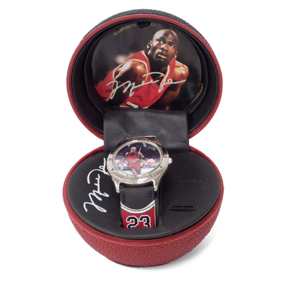 NBA マイケル・ジョーダン AVON Jordan Basketball Watch (Red Jersey) Wilson【1910価格変更】