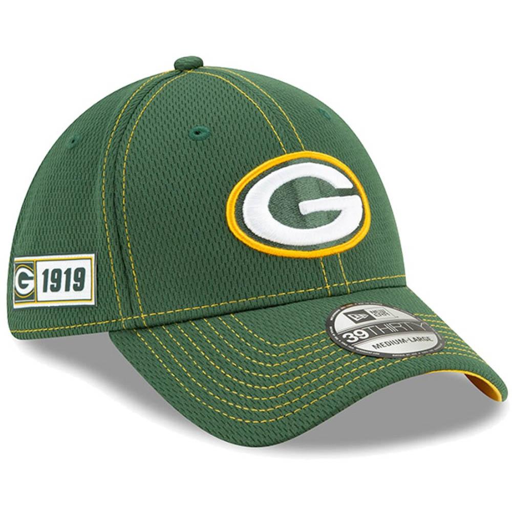 NFL パッカーズ キャップ/帽子 2019 サイドライン Road 39THIRTY Flex Hat ニューエラ/New Era【1910価格変更】【191028変更】