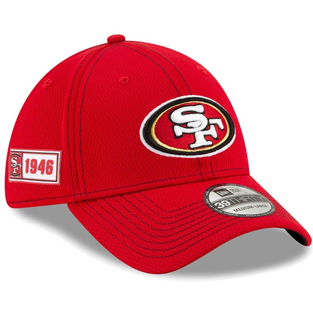 NFL 49ers キャップ/帽子 2019 サイドライン Road 39THIRTY Flex Hat ニューエラ/New Era【1910価格変更】【191028変更】