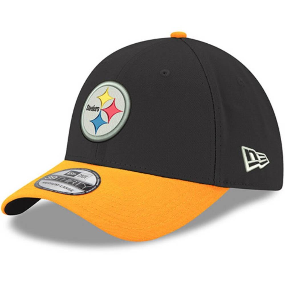スティーラーズ キャップ/帽子 NFL 39THIRTY フレックス ニューエラ/New Era ブラック/イエロー【1910価格変更】【191028変更】