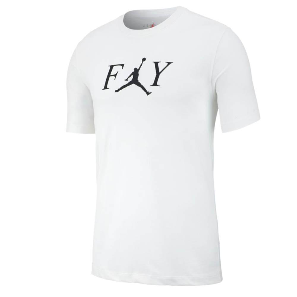 ナイキ ジョーダン/NIKE JORDAN Tシャツ マイケルジョーダン フライ クルー ホワイト AT8932-100【1910価格変更】