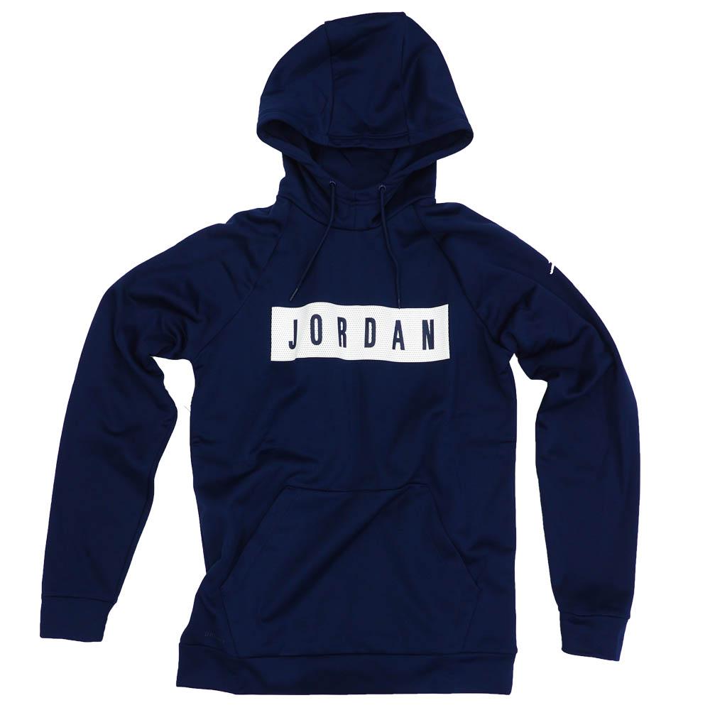 ジョーダン パーカー メンズ MJ 23アルファ サーマ FLC GFX PO ネイビー ホワイト ホワイト CI1895-419【191129JDN】