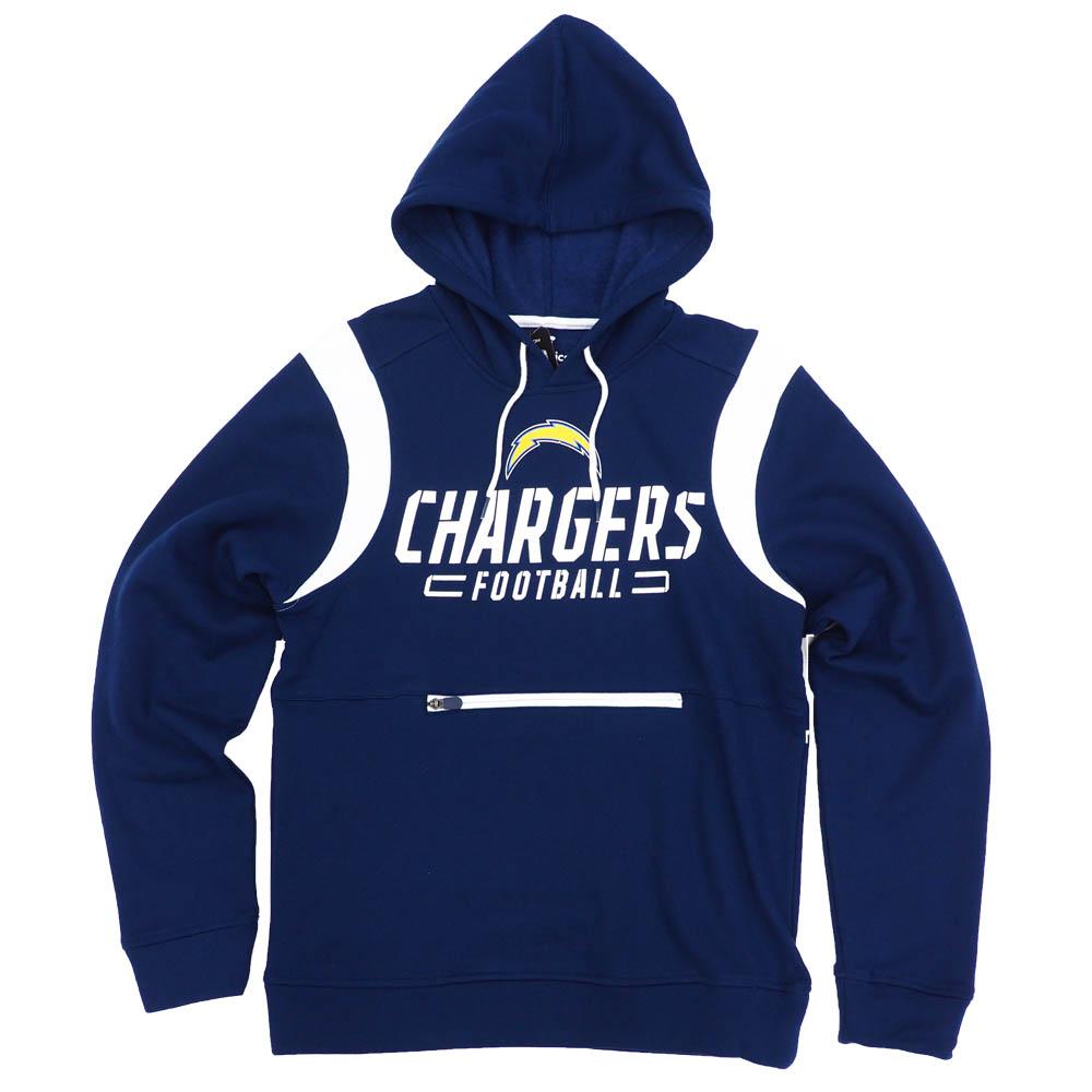NFL パーカー チャージャース フーディー オーバードライブ プルオーバー