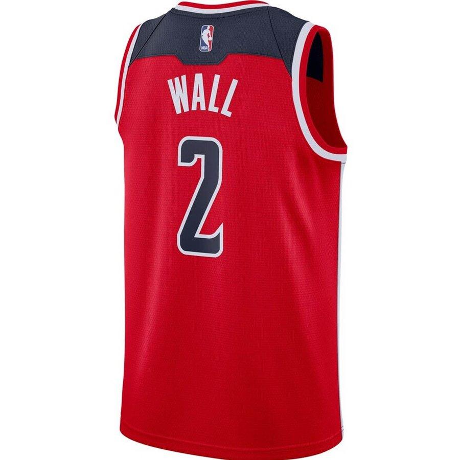 ジョン・ウォール ワシントン・ウィザーズ NBA ユニフォーム/ジャージ 2019-20 スウィングマン ナイキ/Nike レッド CD0060-657【NIKEJP】