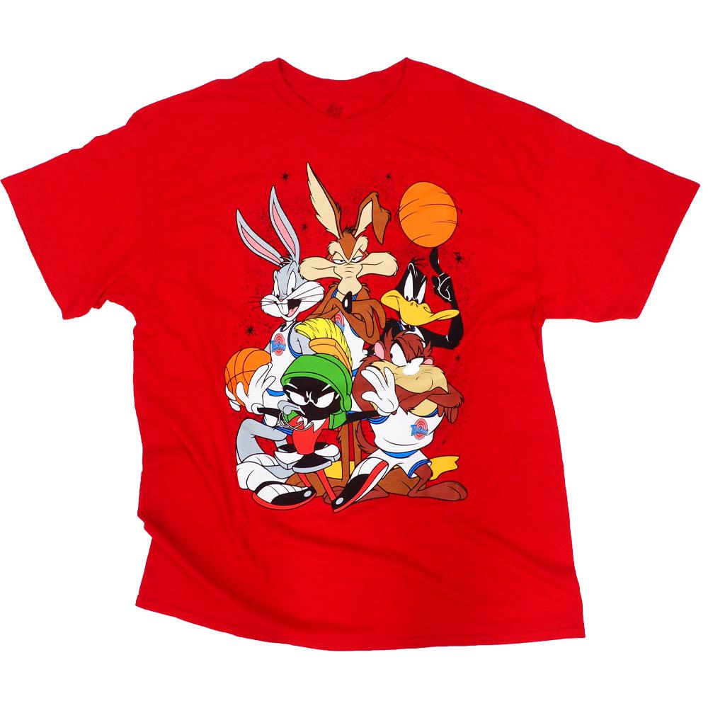NBA Tシャツ 映画 ルーニーチューンズ スペースジャム MOVIE レッド【1910価格変更】【1911NBAt】