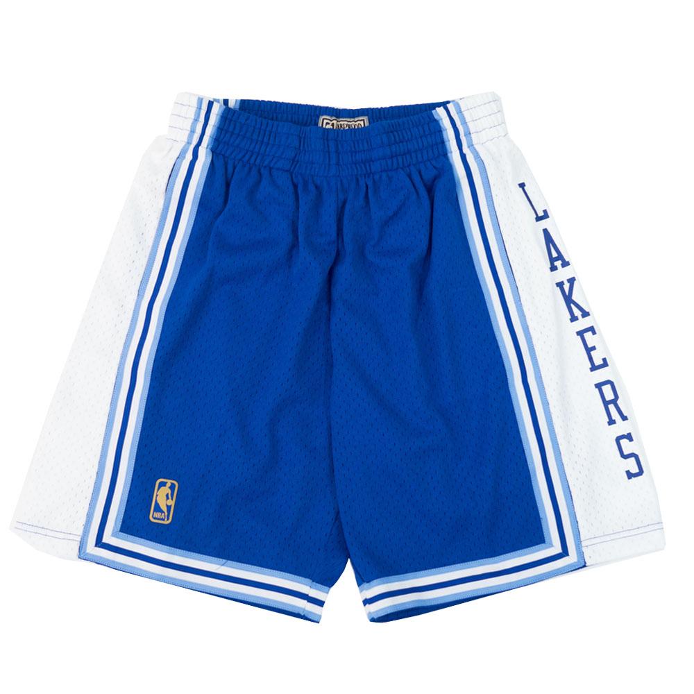 NBA ロサンゼルス・レイカーズ ショートパンツ/ショーツ 1996-97 スウィングマン スローバック ショーツ Mitchell & Ness ブルー【1910価格変更】