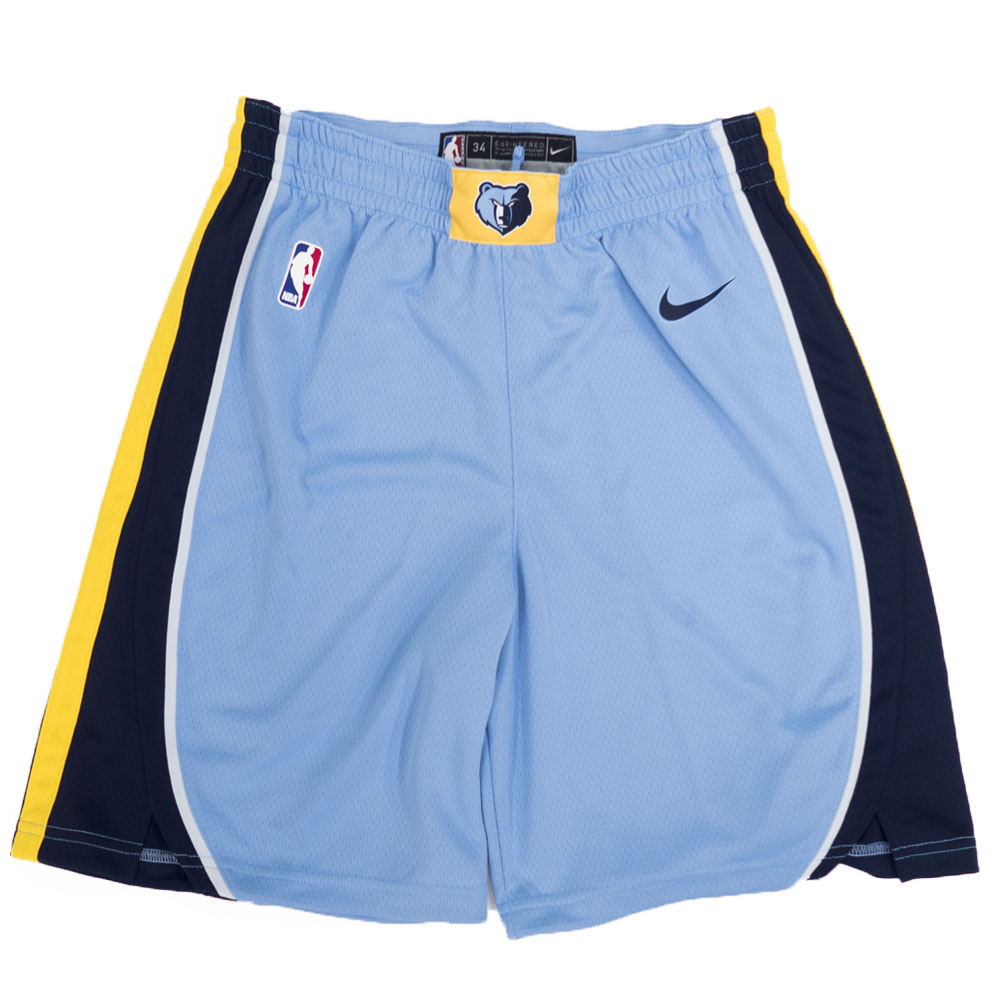 NBA メンフィス・グリズリーズ ショートパンツ/ショーツ アイコン スウィングマン ショーツ ナイキ/Nike ブルー 879978-422【1910価格変更】