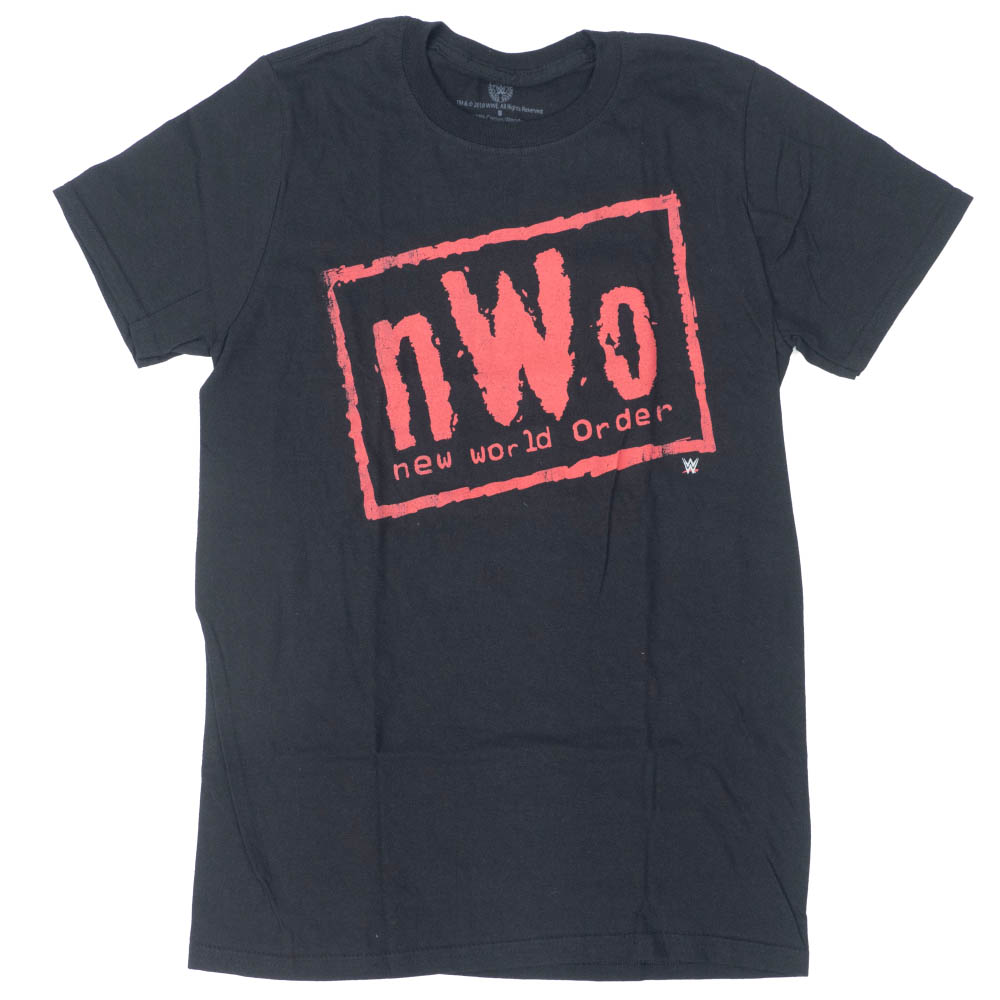 WWE Tシャツ NWO ニュー・ワールド・オーダー WWE Authentic ブラック レッド【1910価格変更】