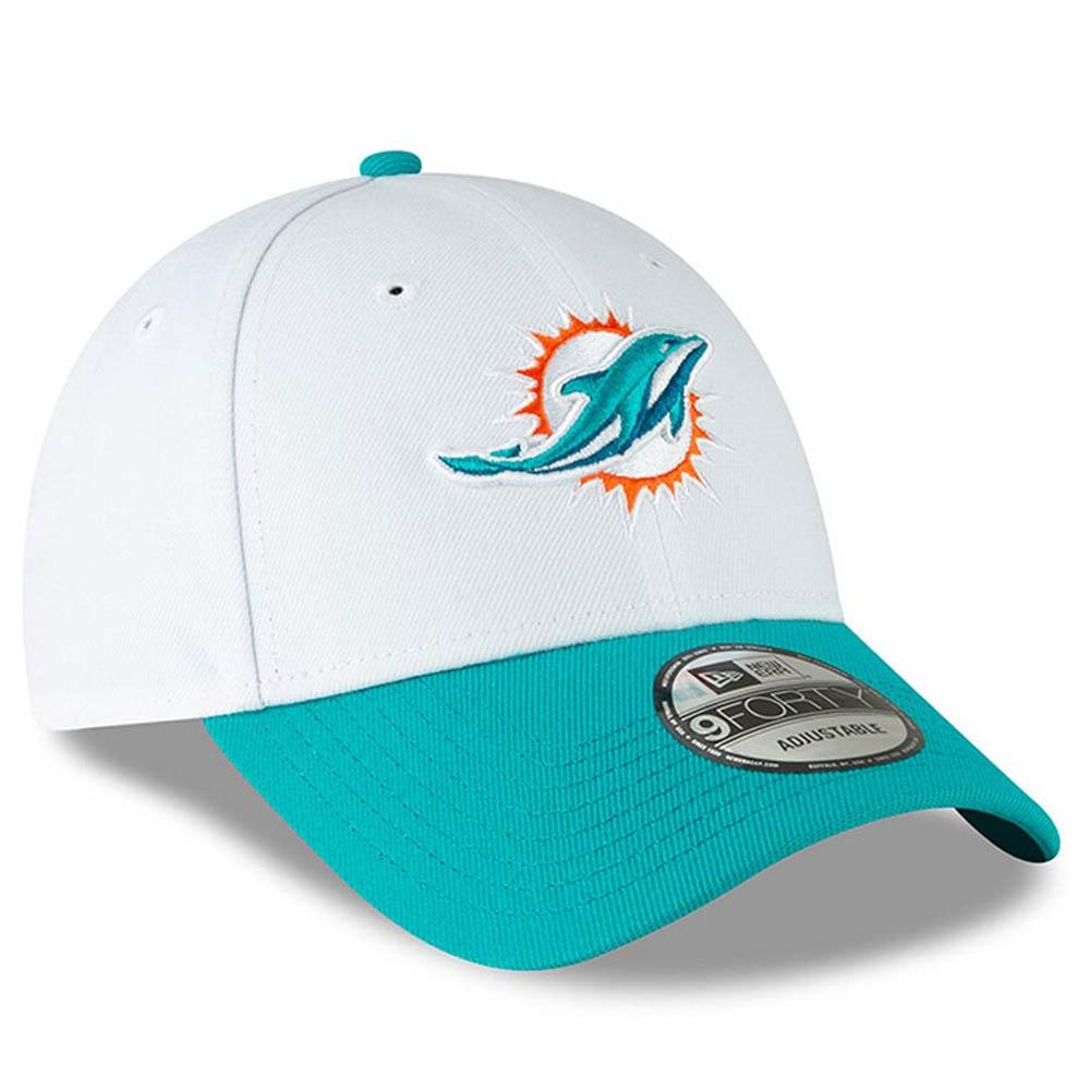 NFL LEAGUE Miami Dolphins aqua New Era 9Forty Cap