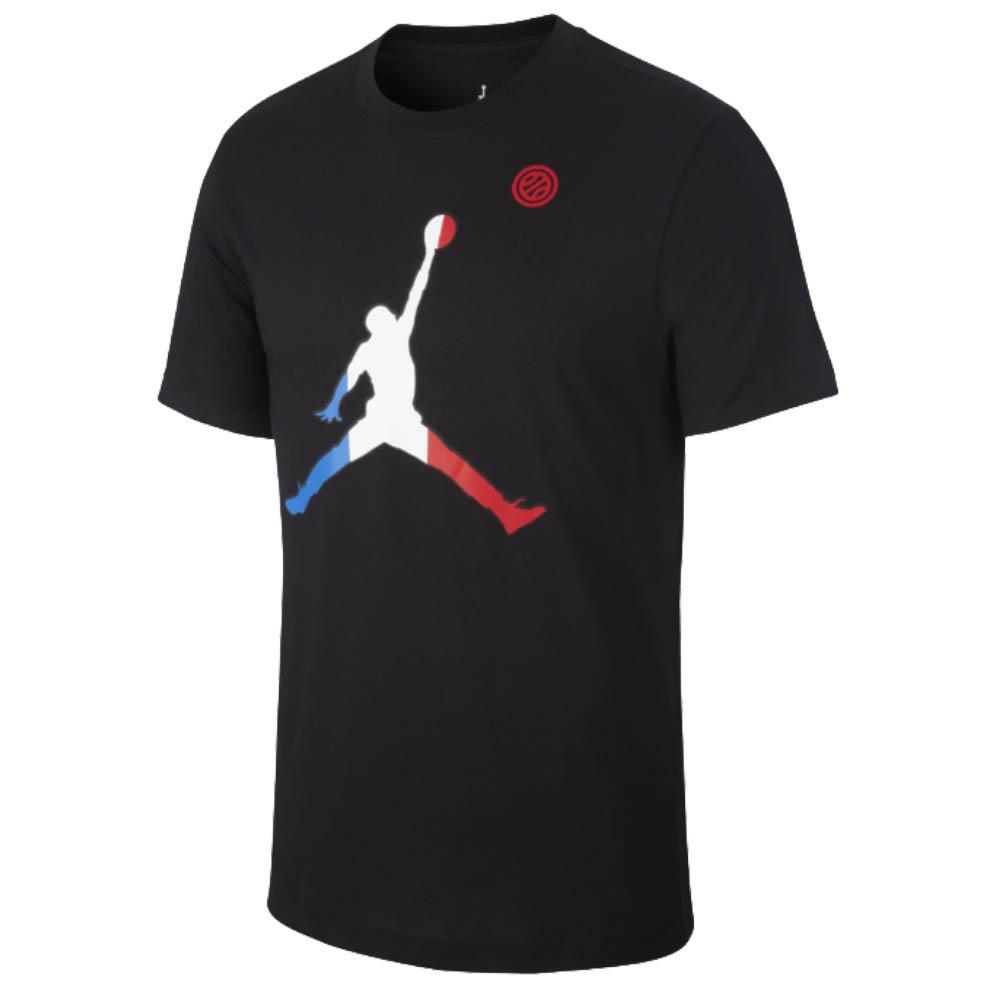ジョーダン/JORDAN France Tシャツ フランス代表 ジャンプマン Tee ブラック
