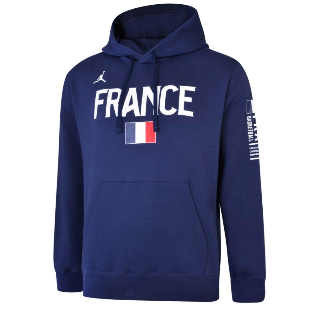 ジョーダン パーカー メンズ France Tシャツ フランス代表 クラブ プルオーバー ネイビー【191129JDN】